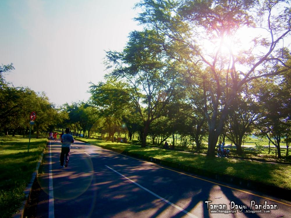Art of Sun Session 08 - Jogging Sambil Berburu Foto di Taman Dayu (5/6)